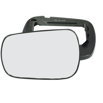 Left side wing door mirror glass for Ford Fiesta