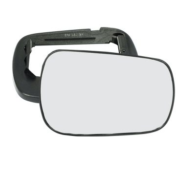 Right side wing door mirror glass for Ford Fiesta