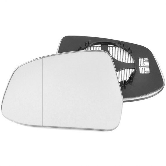 Left side blind spot wing mirror glass for Ford Focus