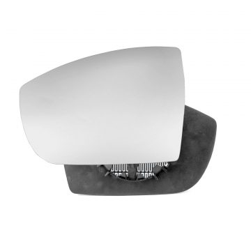 Left side wing door mirror glass for Ford Galaxy
