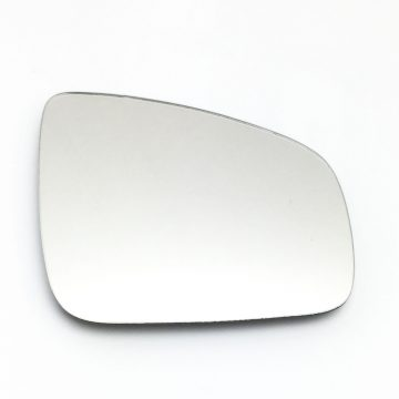 Right side wing door mirror glass for Dacia Duster