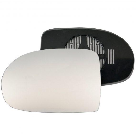 Left side wing door mirror glass for Dodge Caliber