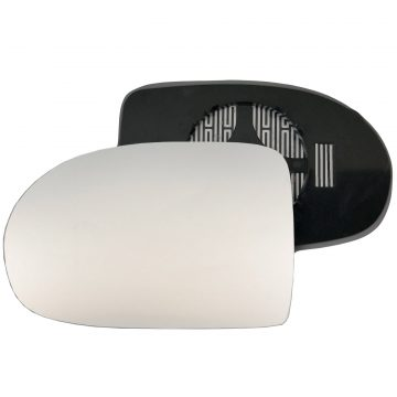 Left side wing door mirror glass for Jeep Compass