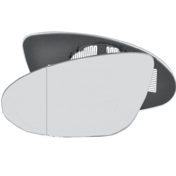 Left side blind spot wing mirror glass for Mercedes-Benz CLS, Mercedes-Benz S-Class