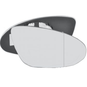 Right side wing door blind spot mirror glass for Mercedes-Benz CLS, Mercedes-Benz S-Class
