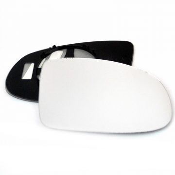 Right side wing door mirror glass for Vauxhall Omega