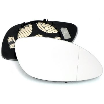 Right side wing door blind spot mirror glass for Vauxhall Vectra
