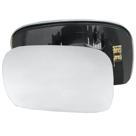 Left side wing door mirror glass for Suzuki Wagon R, Vauxhall Agila