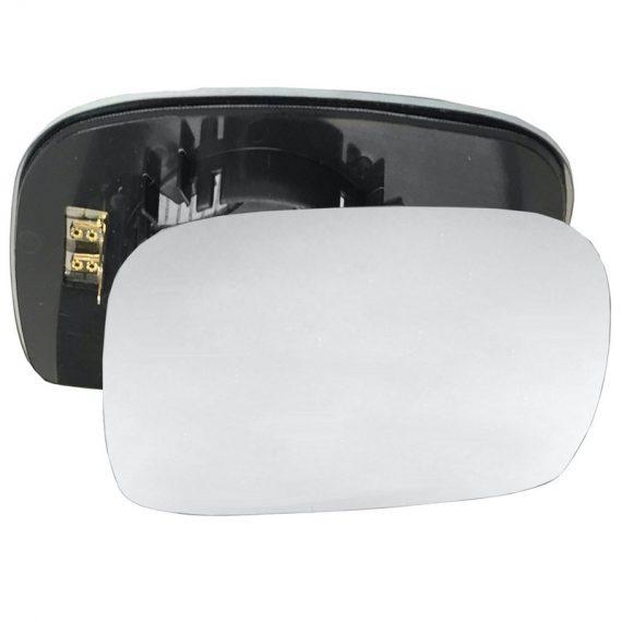 Right side wing door mirror glass for Suzuki Wagon R, Vauxhall Agila