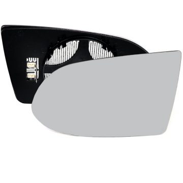 Left side wing door mirror glass for Vauxhall Zafira