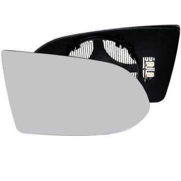 Right side wing door mirror glass for Vauxhall Zafira