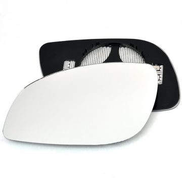 Left side wing door mirror glass for Vauxhall Signum, Vauxhall Vectra