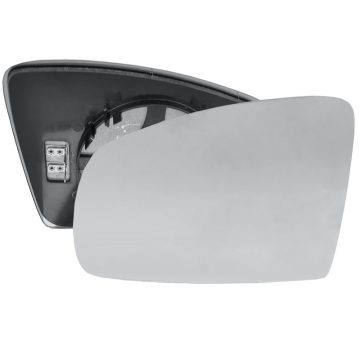 Left side wing door mirror glass for Vauxhall Meriva