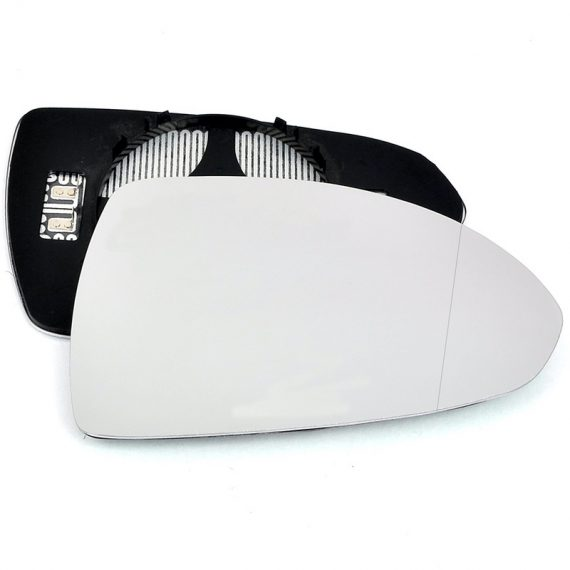 Right side wing door blind spot mirror glass for Vauxhall Corsa
