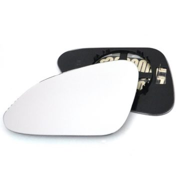 Left side wing door mirror glass for Vauxhall Insignia