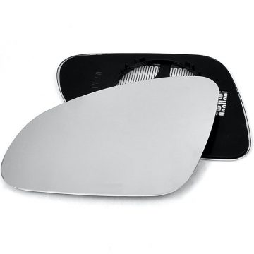Left side wing door mirror glass for Vauxhall Adam, Vauxhall Astra, Vauxhall Cascada