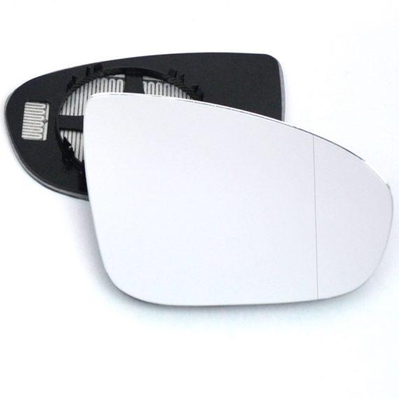 Right side wing door blind spot mirror glass for Vauxhall Meriva