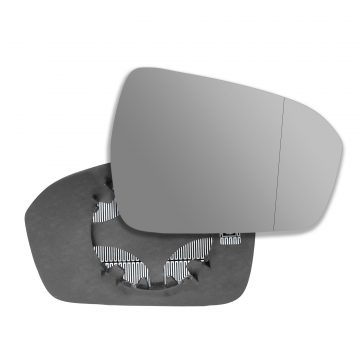 Right side wing door blind spot mirror glass for Ford Mondeo