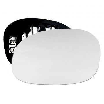 Left side wing door mirror glass for Citroen C2, Citroen Xsara Picasso, Peugeot 1007, Peugeot 206