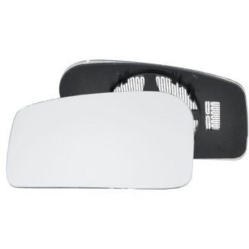 Left side wing door mirror glass for Peugeot 806