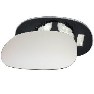 Left side wing door mirror glass for Renault Laguna