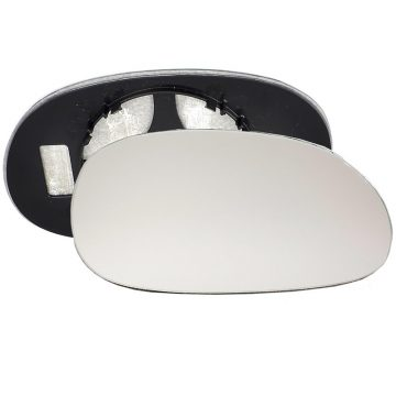 Right side wing door mirror glass for Renault Laguna