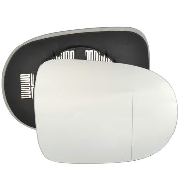 Right side wing door blind spot mirror glass for Renault Twingo