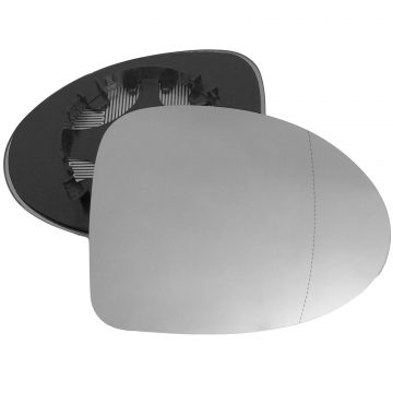 Renault Twingo 2007-2010 Right wing mirror glass - Heated (Blind Spot)