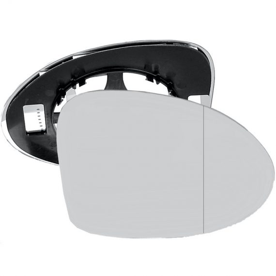 Right side wing door blind spot mirror glass for Renault Thalia