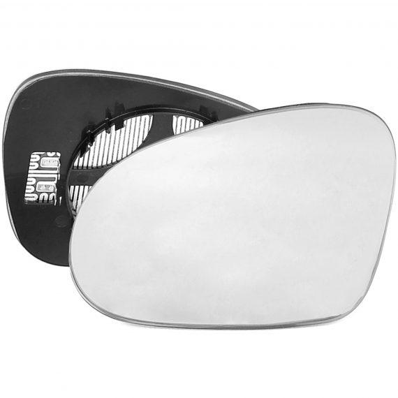 Left side wing door mirror glass for Volkswagen Golf Plus