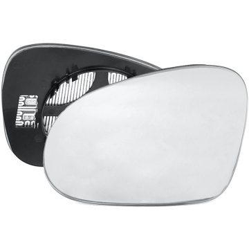 Left side wing door mirror glass for Skoda Superb, Volkswagen Eos, Volkswagen Golf, Volkswagen Jetta, Volkswagen Passat, Volkswagen Sharan