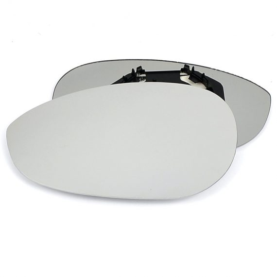 Left side wing door mirror glass for Fiat 500, Fiat Linea