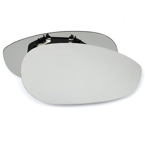Right side wing door mirror glass for Fiat 500, Fiat Linea