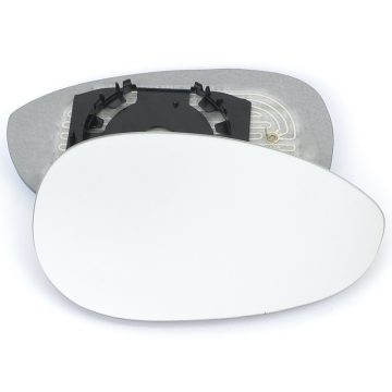 Right side wing door mirror glass for Fiat 500, Fiat Grande Punto, Fiat Linea