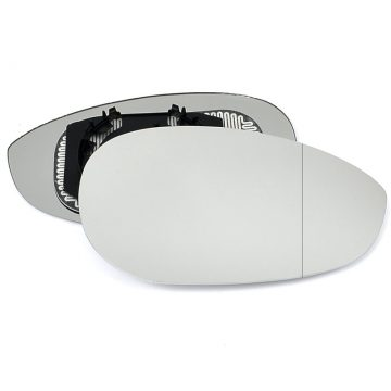 Right side wing door blind spot mirror glass for Alfa Romeo 4C
