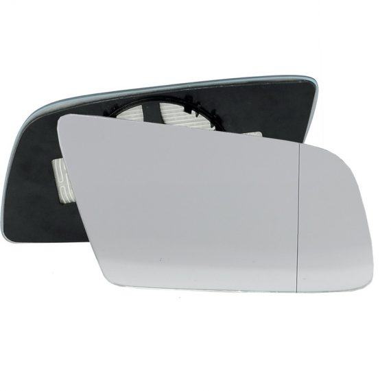 Right side wing door blind spot mirror glass for BMW 5 Series