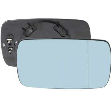 BMW 3 Series 1982-2000 Right wing mirror glass - Heated (Blind Spot) Blue tinted