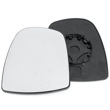 Left side wing door mirror glass for Nissan Primastar, Renault Trafic, Vauxhall Vivaro