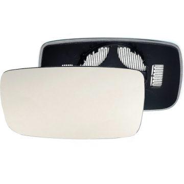 Left side wing door mirror glass for Volvo V90