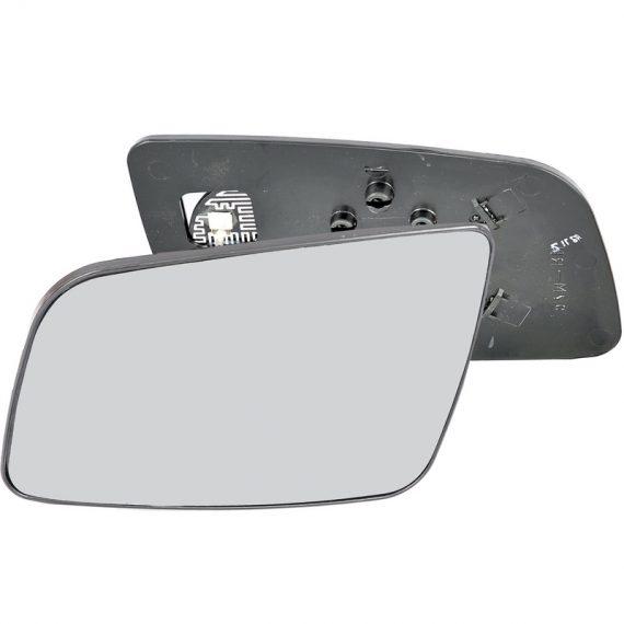 Left side wing door mirror glass for Vauxhall Astra