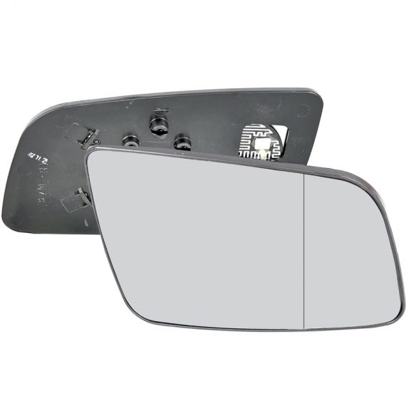 Right side wing door blind spot mirror glass for Vauxhall Astra