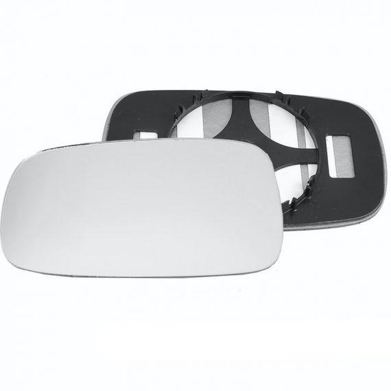 Left side wing door mirror glass for Renault Vel Satis