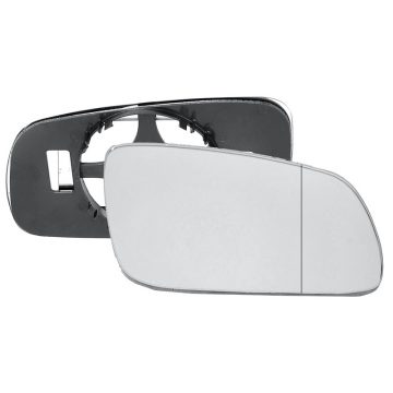 Right side wing door blind spot mirror glass for Seat Ibiza