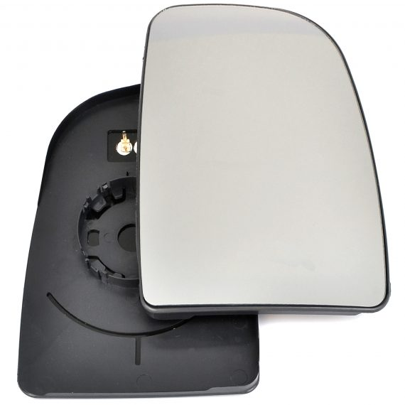 Right side wing door mirror glass for Citroen Relay, Fiat Ducato, Peugeot Boxer