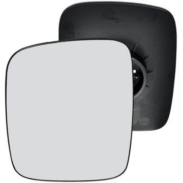 Left side wing door mirror glass for Volkswagen Transporter T4 (manual)