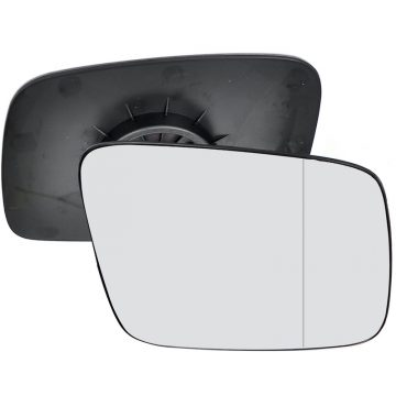 Right side wing door blind spot mirror glass for Volkswagen Transporter T4 (manual)