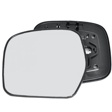 Left side wing door mirror glass for Toyota Hiace, Toyota Land Cruiser