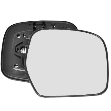 Right side wing door mirror glass for Toyota Land Cruiser
