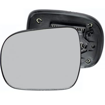 Left side wing door mirror glass for Lexus RX, Toyota Hilux