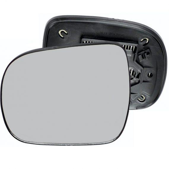 Left side wing door mirror glass for Lexus RX, Toyota Hilux